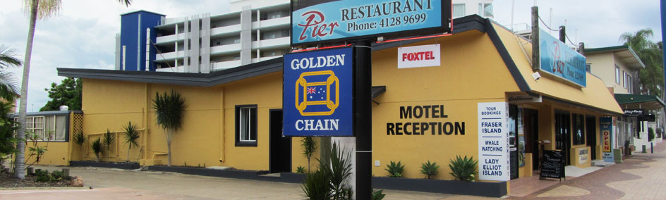 Urangan Motor Inn and Pier Restaurant is the ideal location for those who wish to experience the magic of Hervey Bay