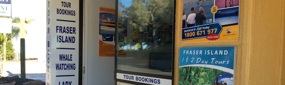 Drop into the Tourist Office to organise all your tour needs